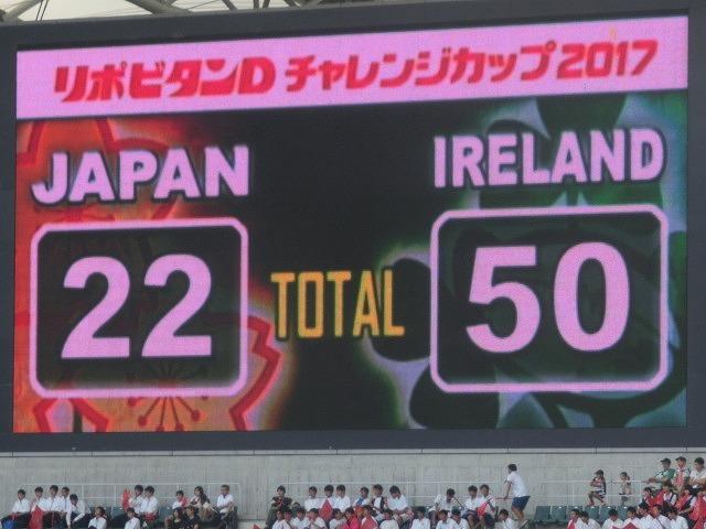 日本は22-50で完敗 「日本VSアイルランド」 24日(土)の第2戦は緊迫したゲームを期待_f0141310_07271602.jpg
