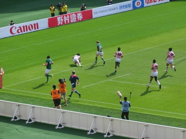 日本は22-50で完敗 「日本VSアイルランド」 24日(土)の第2戦は緊迫したゲームを期待_f0141310_07282011.jpg