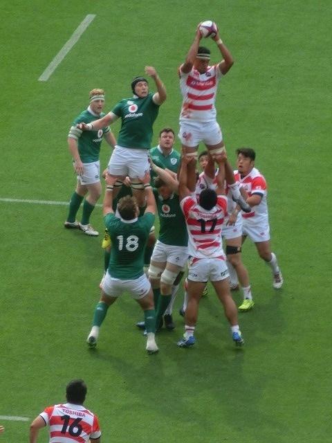 日本は22-50で完敗 「日本VSアイルランド」 24日(土)の第2戦は緊迫したゲームを期待_f0141310_07420559.jpg