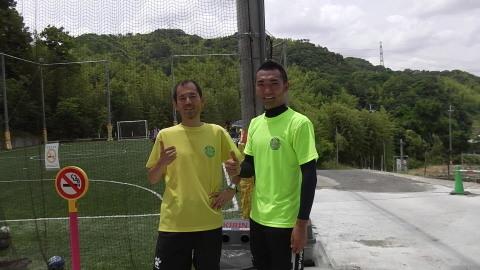 ゆるUNO 6/18(日) at UNOフットボールファームUNO_a0059812_09180677.jpg