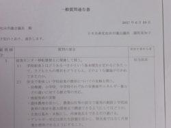 6月議会は15人の議員が一般質問通告を行いました。26~27日の本会議で質問します。_c0133422_165238.jpg