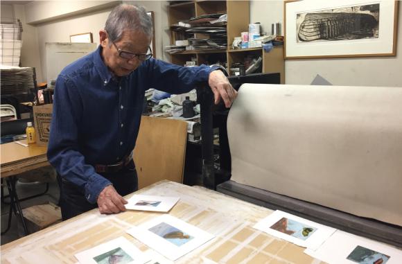 野見山暁治展 Una Mostra del Maestro Gyoji Nomiyama_a0281139_15445333.jpg