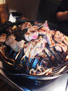 好漢飯~ジンギスカン!_b0145843_18011517.jpg