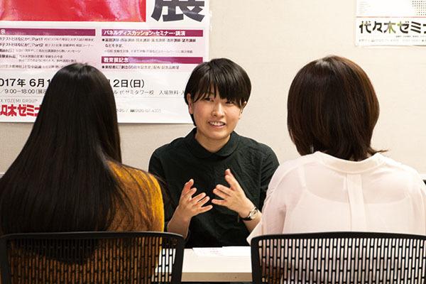 体験デッサンと受験相談会が行われました。_f0227963_10074861.jpg