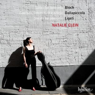 Bloch, Ligeti & Dallapiccola: Suites for solo cello@Natalie Clein_c0146875_22305948.jpg