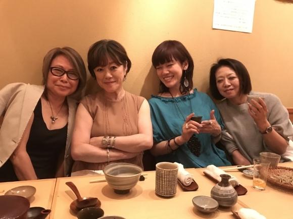 「三合庵」白金店 最後の食事会♪_d0339889_18215302.jpg