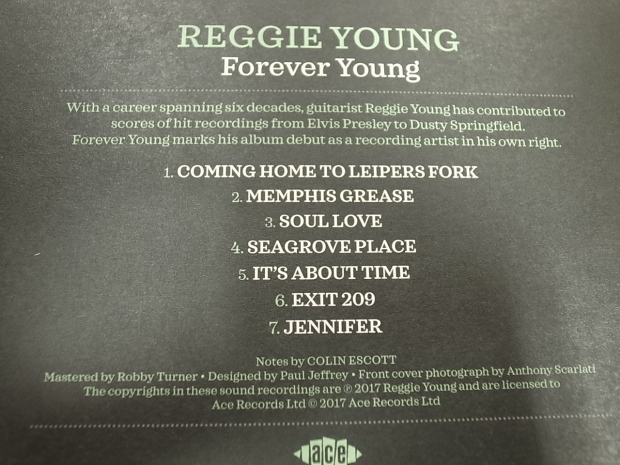 REGGIE YOUNG/Forever Young レジ―・ヤング/フォーエバー・ヤング_f0197703_19472010.jpg