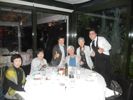 '17,6.21(水)雨の日の勝浦と⑰ザグレブの素敵なレストラン!_f0060461_07573313.jpg