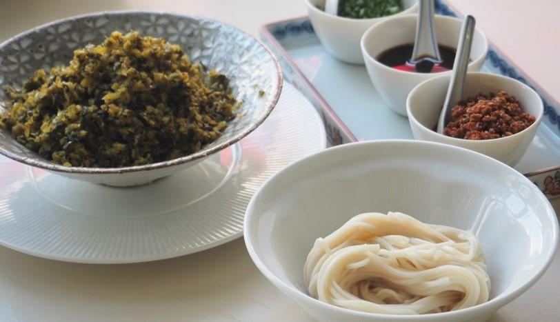 高菜の和え麺_e0148373_15214021.jpg