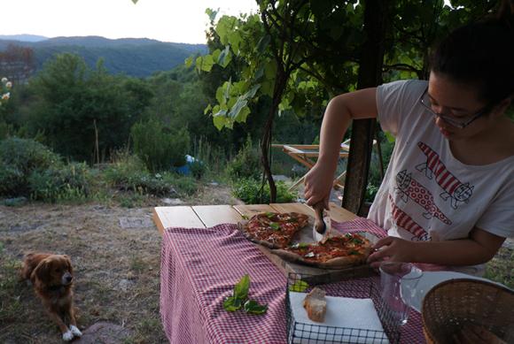 我が家の「元気が出るスープ」畑の野菜のガスパチョ_f0106597_07054136.jpg