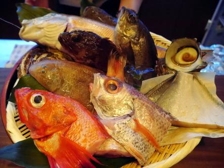 北浜 おつる @街の夜景が美しい、魚自慢の料理屋_b0118001_08284613.jpg