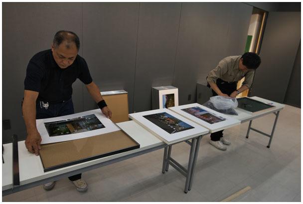 写真展「新・播磨国風土記」搬入_d0272207_22291548.jpg