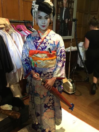 ヨーロピアンの準備した、テーマは日本パーティー_e0151619_09311614.jpg