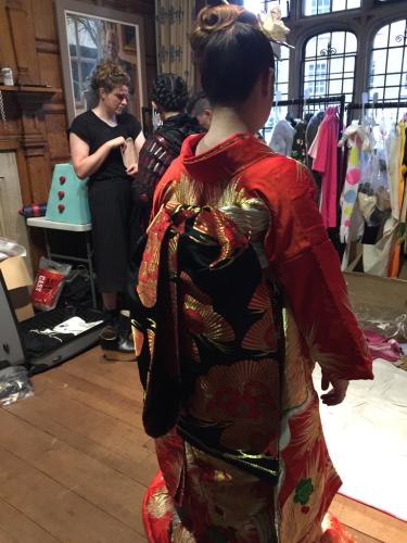 ヨーロピアンの準備した、テーマは日本パーティー_e0151619_09311740.jpg