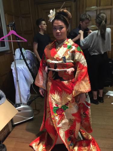 ヨーロピアンの準備した、テーマは日本パーティー_e0151619_09311761.jpg