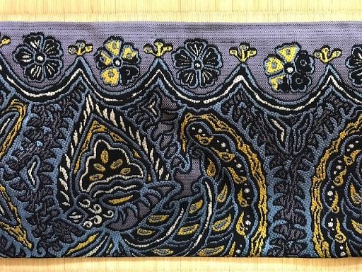 西陣織アンソロジー・イナクラフト展出品の帯・岡文織物_f0181251_18264198.jpg