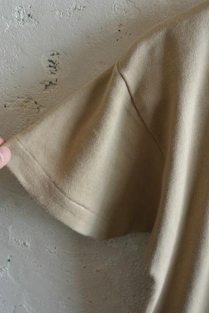 Italian navy boat neck t-shirts beige_f0226051_15575357.jpg