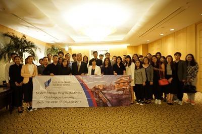 タイのチュラロンコン大学の方々への講演を行いました_e0190287_16150975.jpg