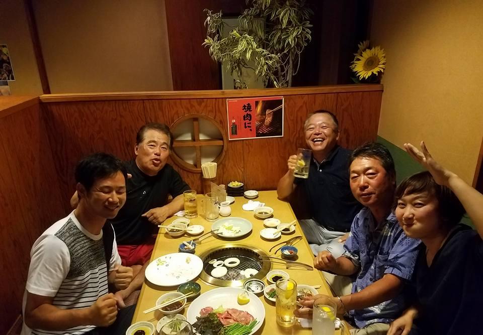 吉川社長の記念コンペと祝賀会に御祝いに駆け付けました。_c0186691_9373612.jpg