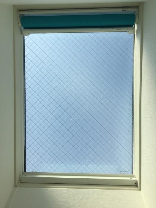 タチカワロールスクリーン トップライト 天窓 傾斜窓_e0243413_17331660.jpg