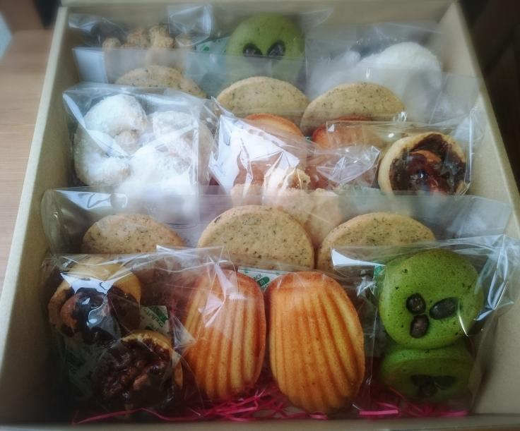 心ばかりのお礼を焼き菓子に☺_a0113430_09180232.jpg