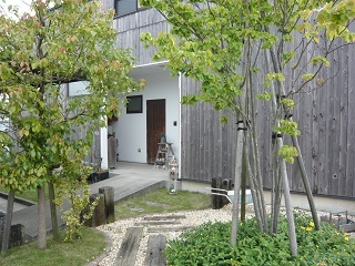 お庭の水まき係_c0369433_16495187.jpg