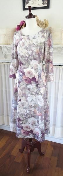 布でこんなにも変わる…ワンピース『夏のシャロン』_f0182167_18120011.jpg