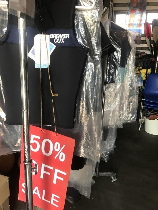 ウエットスーツ爆烈セール!_f0089978_08563848.jpg