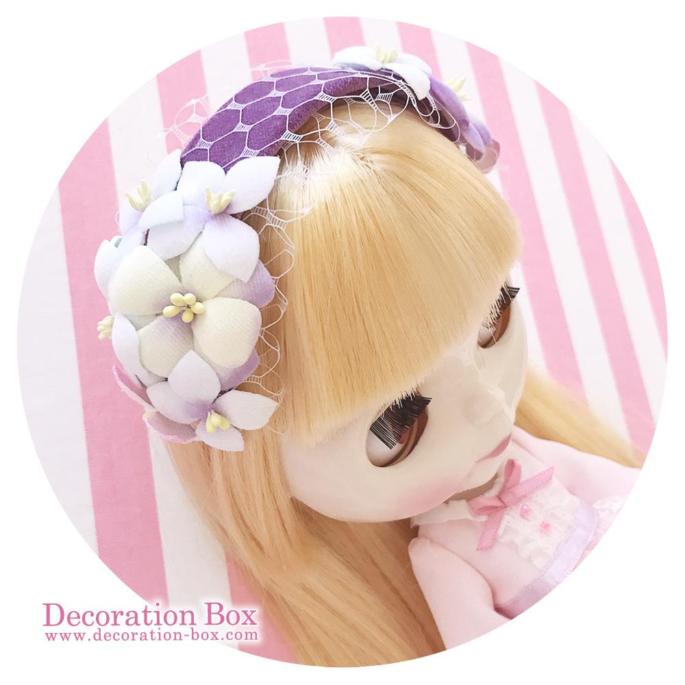 6/25(日)21時 ヘッドドレスをWeb Shop にUPいたします☆_e0140811_16595460.jpg