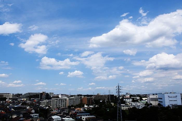 扁平雲(積雲)_b0268615_6423850.jpg
