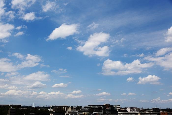 扁平雲(積雲)_b0268615_6425727.jpg