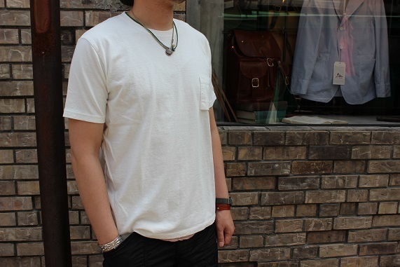 "FREEMAN別注 「Jackman」 \""Pocket T0shirt\"" ご紹介_f0191324_08184045.jpg"
