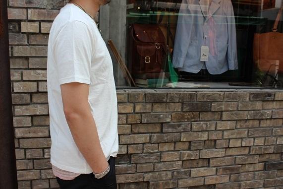 "FREEMAN別注 「Jackman」 \""Pocket T0shirt\"" ご紹介_f0191324_08184622.jpg"