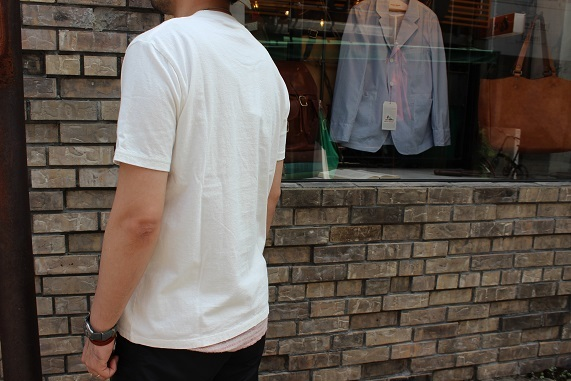 "FREEMAN別注 「Jackman」 \""Pocket T0shirt\"" ご紹介_f0191324_08185152.jpg"