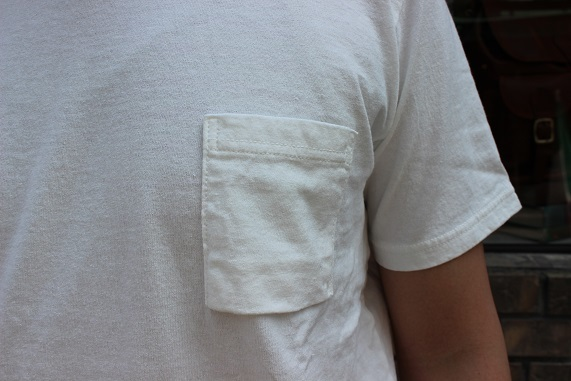 "FREEMAN別注 「Jackman」 \""Pocket T0shirt\"" ご紹介_f0191324_08190285.jpg"