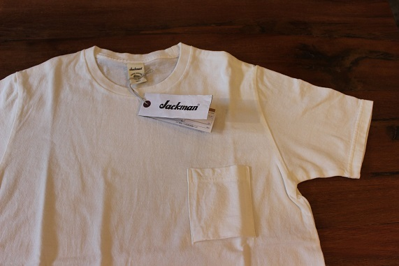 "FREEMAN別注 「Jackman」 \""Pocket T0shirt\"" ご紹介_f0191324_08190652.jpg"