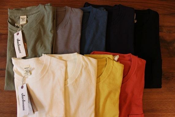 "FREEMAN別注 「Jackman」 \""Pocket T0shirt\"" ご紹介_f0191324_08193247.jpg"