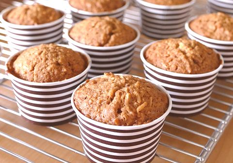 黒糖とココナッツのカップケーキ_f0191248_12463760.jpg