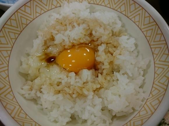6/25  たまごかけごはん朝食¥250@すき家_b0042308_12371938.jpg