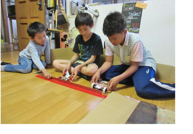 カーレース! 小学生クラス(上高野)_f0211514_01294434.jpg