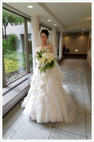 *6月の花嫁様*_e0159050_16580355.jpg