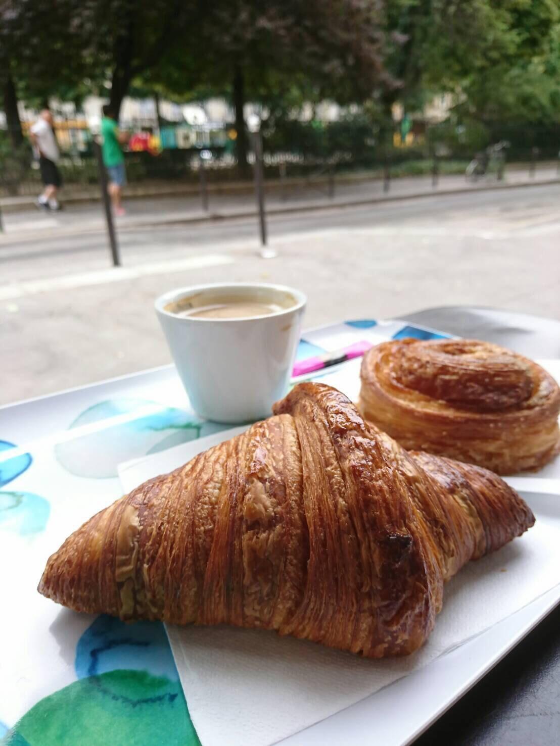 ブレシュクレで甘ーい朝ごはんを食べて、一人ヴェリブ - 今日も食べようキムチっ子クラブ (我が家の韓国料理教室)
