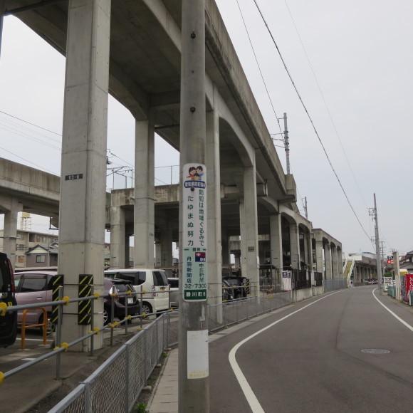 勝川駅で乗り換えてみた 歩むという字は少し止まると書くんです 春日井_c0001670_19571625.jpg
