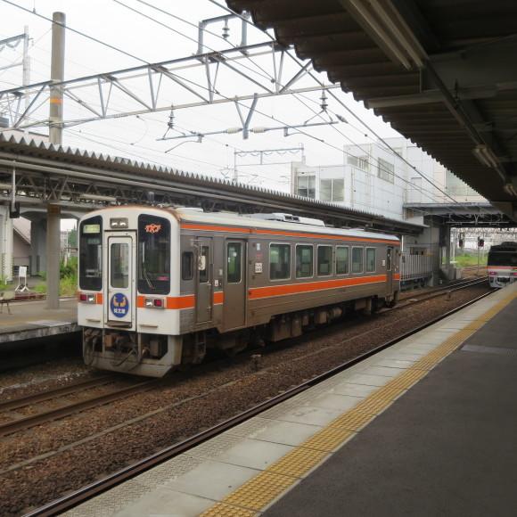 勝川駅で乗り換えてみた 歩むという字は少し止まると書くんです 春日井_c0001670_19590372.jpg