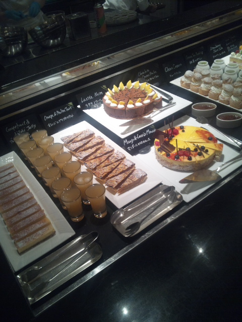 ウェスティンホテル東京 ザ・テラス ワールドチョコレート・デザートブッフェ~第1章~_f0076001_2316564.jpg