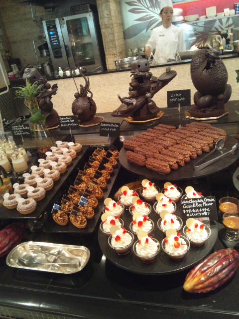 ウェスティンホテル東京 ザ・テラス ワールドチョコレート・デザートブッフェ~第1章~_f0076001_23181188.jpg