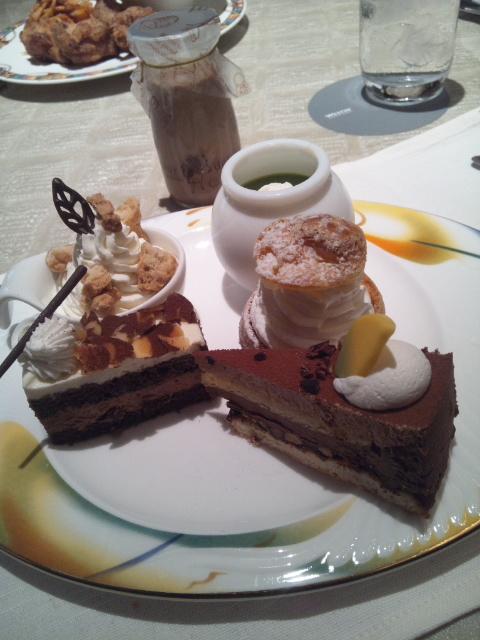 ウェスティンホテル東京 ザ・テラス ワールドチョコレート・デザートブッフェ~第1章~_f0076001_23245696.jpg