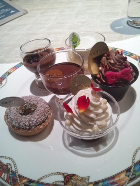 ウェスティンホテル東京 ザ・テラス ワールドチョコレート・デザートブッフェ~第1章~_f0076001_2326835.jpg