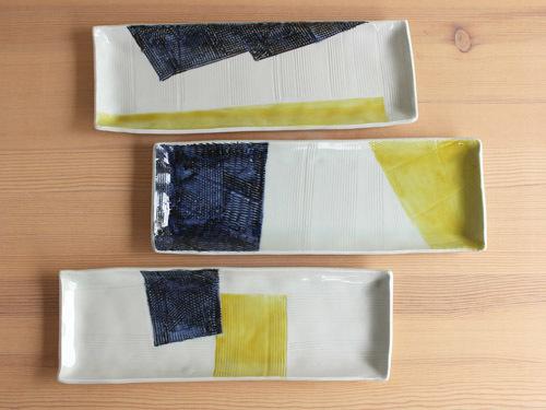 古川桜さんの細長いうつわ、箱形のうつわ。_a0026127_14081659.jpg