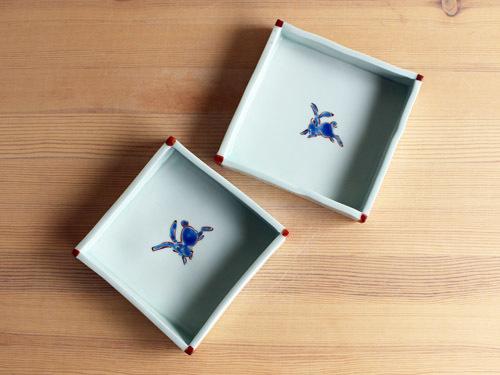 古川桜さんの細長いうつわ、箱形のうつわ。_a0026127_14330090.jpg